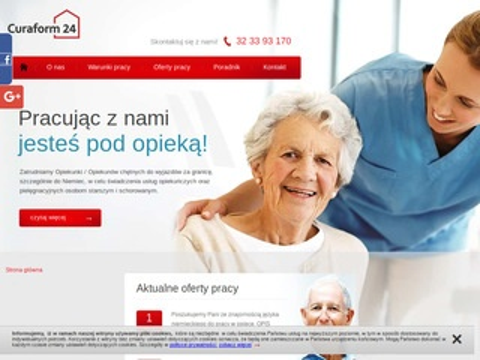 Curaform.pl praca w opiece