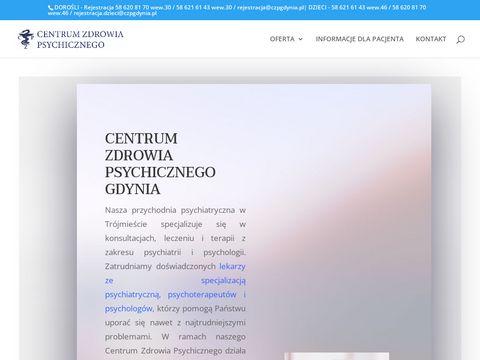 Cenrtum zdrowia psychicznego Gdynia