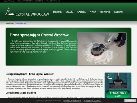 Czystal Wrocław sprzątanie biur