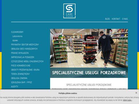 Caresystem.pl czyszczenie aptek
