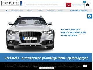 Carplates.pl Niemcy tablice