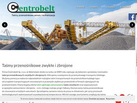 Centrobelt.pl wulkanizacja taśm