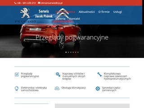 Citroen Peugeot Serwis naprawa