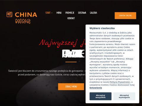 Chinaming.pl jedzenie chińskie