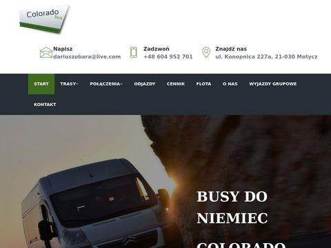 Coloradobus.pl - przewóz osób