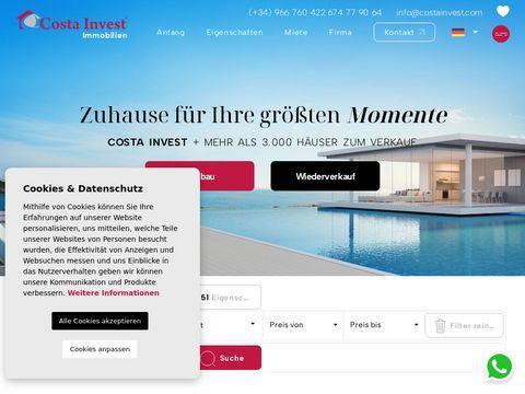 Costa Invest - willa w Hiszpanii