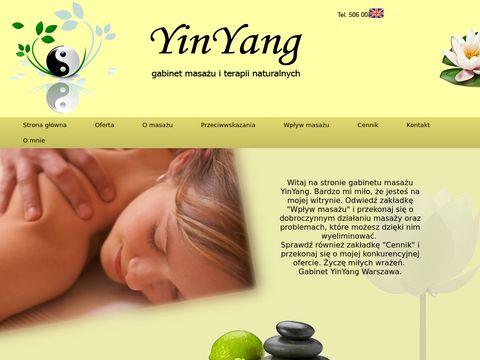 YinYang - gabinet masażu