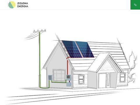 Zielonae.pl projektowanie