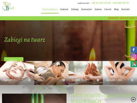 Tutti Beauty rzęsy 1:1 Gliwice
