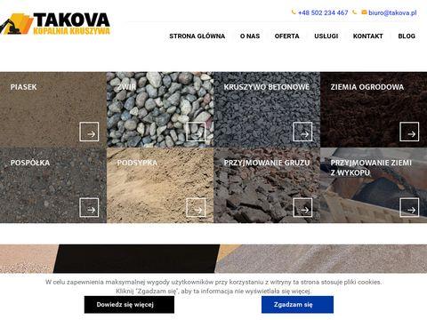 Takova.pl destrukt asfaltowy