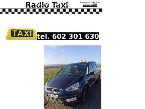 Taxirynoklodzko.pl taryfa