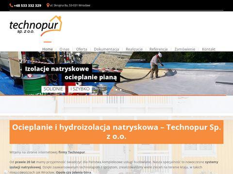 Technopur hydroizolacja fundamentów