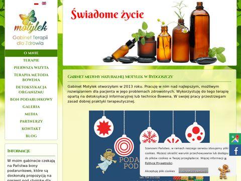 Motylek terapia bólu pleców Toruń