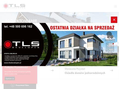 TLS Developer nowy dom Szczecin