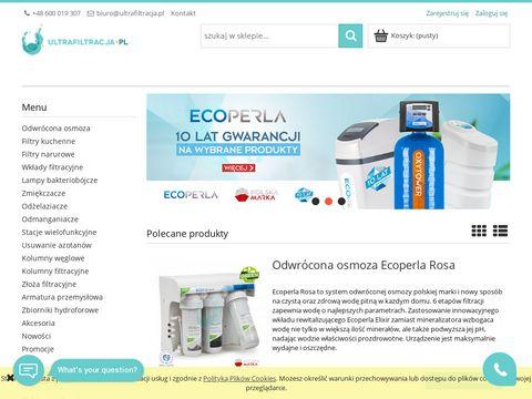 Ultrafiltracja - filtry do wody