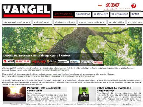 Vangel.pl ekogroszek pakowany