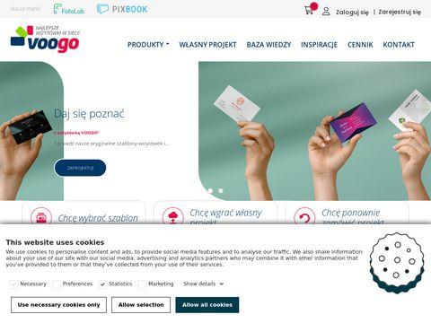 Tanie wizytówki online - voogo.pl