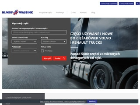 Volvo-uzywane.pl części