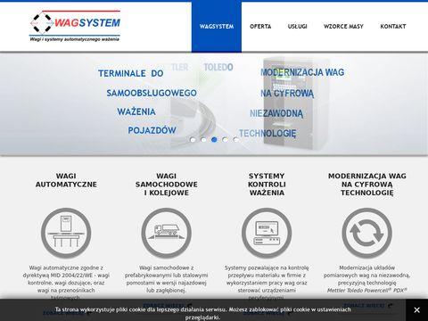 Wagsystem - wagi przemysłowe