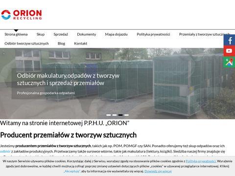 Orion skup surowców wtórnych