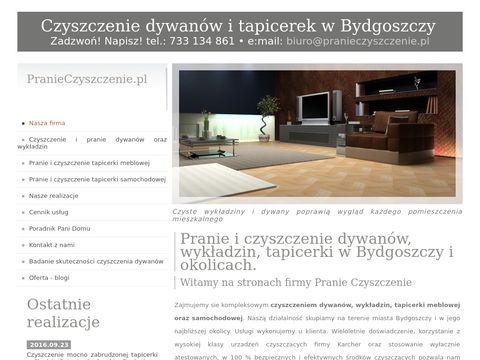 Czyszczenie dywanów - Bydgoszcz