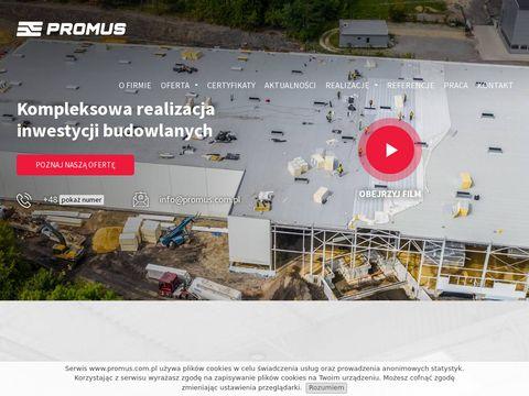 Promus.com.pl budowa hal
