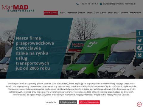 MarMad tanie przeprowadzki Wrocław