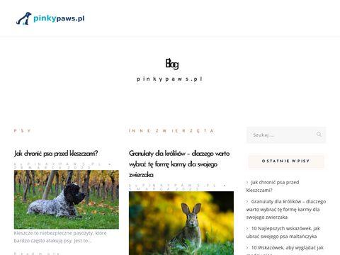 Pinky Paws ubranka dla psów