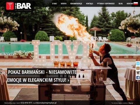Barman na wesele - bar mobilny