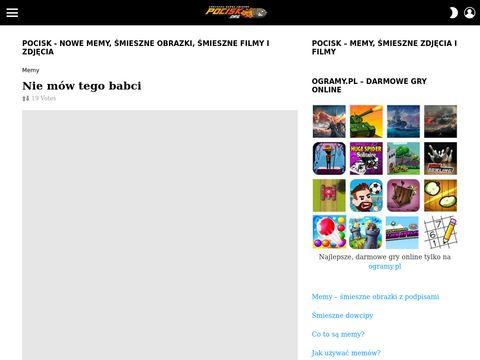 Pocisk.org - śmieszne zdjęcia
