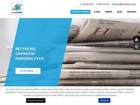 Rrmetall.com.pl odbiór odpadów