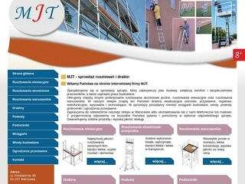 MJT rusztowania budowlane