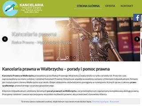 Zaręba Wojciech prawo Wałbrzych
