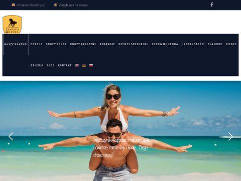Ranchoulinia.pl obozy konne dla dzieci