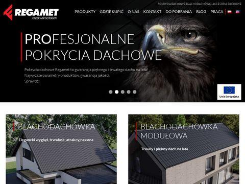 Rgamet.com.pl blachy dachowe i rynny