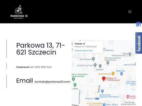 Restauracja.parkowa13.com