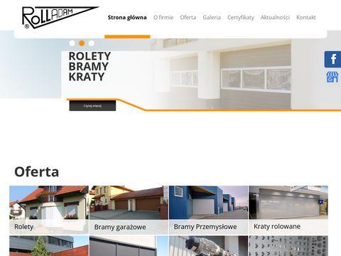 Roll-Adam kraty rolowane Katowice