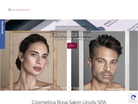 Cosmetica Rosa pedicure Szczecin