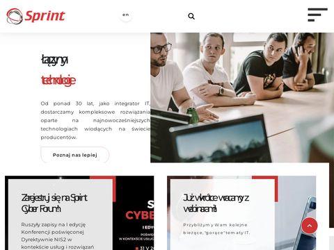 Sprint systemy monitoringu Warszawa