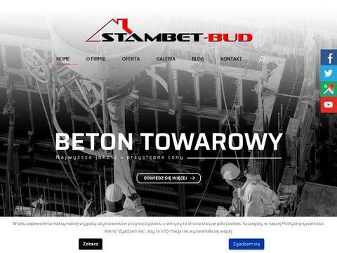 Steambet-Bud beton towarowy