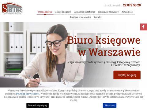 Status.waw.pl biuro rachunkowe