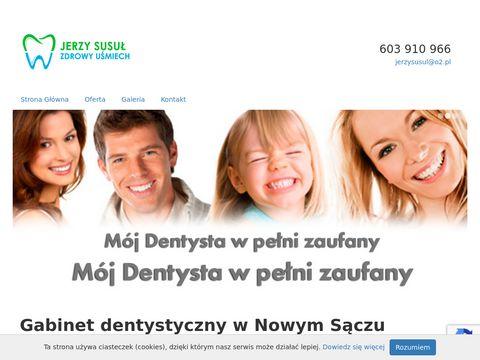 Jerzy Susuł dentysta Nowy Sącz