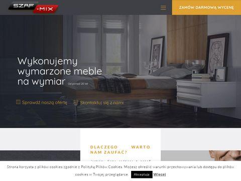 Szafy na wymiar - Szaf-mix Warszawa