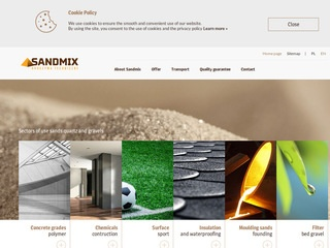 Sandmix producent żwiru