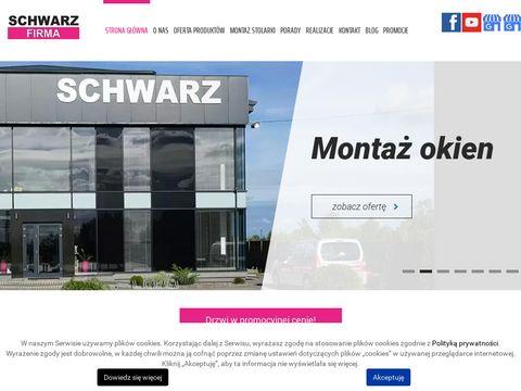 Schwarz-Firma drzwi aluminium