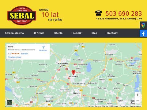 Sebal szkolenia bhp Piekary Śląskie