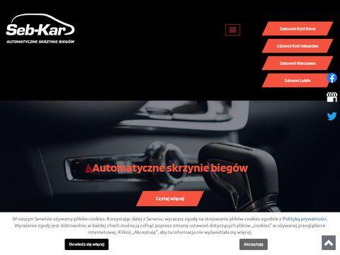 Sebkar.pl automatyczne skrzynie
