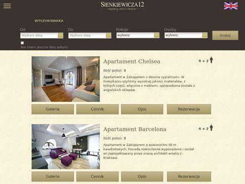 Apartamenty Zakopane
