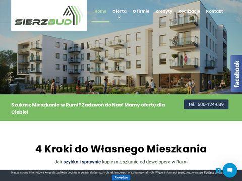 Sierzbud.pl nowe mieszkania Rumia