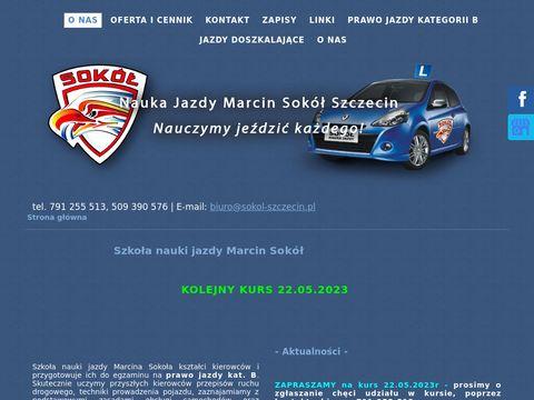 Marcin Sokół nauka jazdy Szczecin